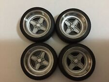 """1/18 scale modified REAL ALUMINIUM 15"""" FORD RS WHEELS"""