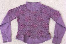 TOPP ** Blusen-Pullover für Mädchen ** lila ** MEXX ** Gr. 140 ** TOPP