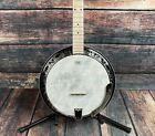 Ortega Left Handed OBJE400TCO-L Falcon Series 5 String Acoustic Electric Banjo - for sale