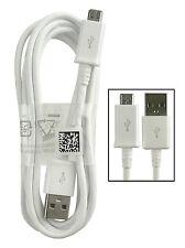 Cable USB Sincronización de Datos para Samsung Galaxy S3 S4 blanco 1 metro