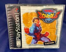 Playstation 1 Rival Schools Game Complete w/ Manual & Case PS1 1998