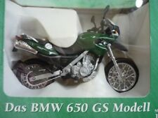 Motorrad Modell BMW 650 GS in british racing green, 1:18, neu in OVP, von MAISTO