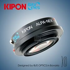 New Kipon BAVEYES adapter for ALPA mount lens to Sony NEX camera α5000 α6300