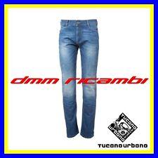 Pantaloni Denim Jeans TUCANO URBANO GINS Blù Tg.M(48) 5 tasche moto scooter