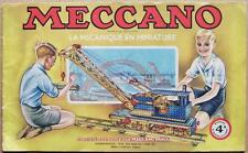 EO 1948 > MECCANO : Manuel français d´instructions N° 4A