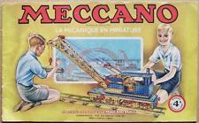 MECCANO : Manuel français d´instructions N° 4A (1948)