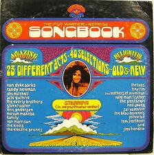 THE 1969 WARNER/REPRISE SONGBOOK 2 lp promo FRANK ZAPPA JIMI HENDRIX JETHRO TUL