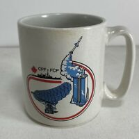 Vintage Raytheon Canada Canadian CPF - FCP Missile Military Coffee Mug