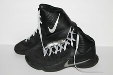 Nike Hyperfuse Basketball Shoes, #684591-001, Black/Silver, Men's US Size 10