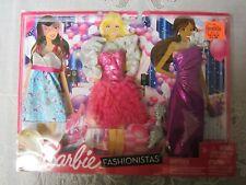 Barbie Fashionistas # N4855 3 Pack Clothing 2011 Mattel