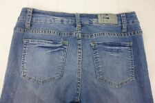 ITZ ME U.S.A. Medium Wash Cropped Jeans Zipper/Button Closure Women's Size 5