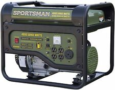 Emergency Power Back up Gasoline Gas Portable Generator 4 Socked 4000W RV Camp