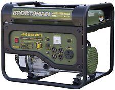 Emergency Gasoline Gas Portable Home Generator 4 Socked Sportsman 4000W RV Camp