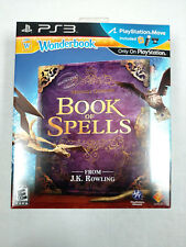 ** Sony Wonderbook: Book of Spells PlayStation Move (99061) Motion Controllers
