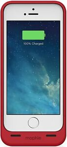 Mophie Juice Pack Helium Battery Case 1700mAh for iPhone 5 (JPH-IP5-RED) - Red