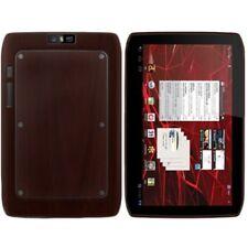 Skinomi Tablet Skin Dark Wood+Screen Protector for Motorola XOOM 2 Media Edition