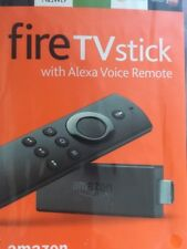 AMAZON FIRE TV STICK WITH ALEXA VOICE REMOTE LATEST 2ND GEN BRAND NEW SEALED!!