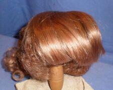 """Poupée Perruque/Cheveux Humain 11"""" STRAWB. Blonde Boucles au cou/echthaarper. Rotblond 28"""