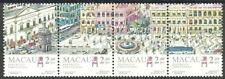 Macau - Largo do Senado Viererstreifen postfrisch 1995 Mi. 804-807