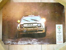 Toyota Celica GT4 - poster Carlos Sainz - 1992