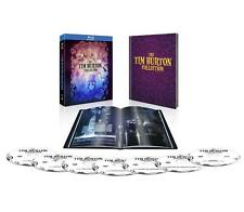 NEW ! The Tim Burton Collection & Hardcover Book - Blu-ray Bluray DVD Box Set  !