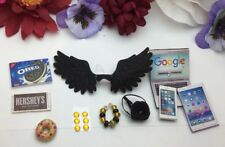 Littlest Pet Shop Custom Clothes & Accessories LPS PET NOT INCLUDED  black Wings