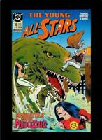 YOUNG ALL-STARS #14, VF/NM, Dinosaur, DC 1987 1988  more DC in store
