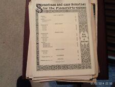 Isidor Seiss: Sonatine, op 8, no 1, piano (Schirmer)