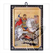 1027 icono hl. Georg Icon procedentes de Grecia икона Георгий Победоносец