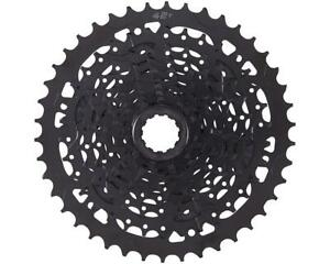CS-H093A Microshift Advent 9-Speed Cassette w/ Alloy Large Cog (Black) (11-42T)