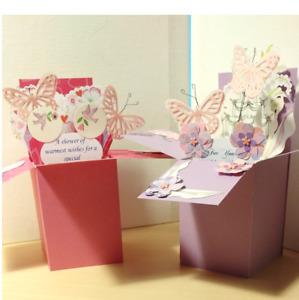 Handmade Wedding Shower  Pop up Exploding Box Card -1 left- Free ship USA