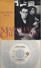 MARSHALL CRENSHAW  Little Wild One (No.5) / Vague Memory  45 with PicSleeve