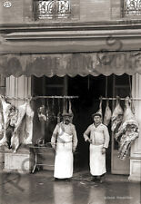 Photo Antique Commerce Toulouse Butcher Food of / The Market Repro An. 1920