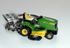 JOHN DEERE RIDE ON MOWER KEYRING DIECAST NEW