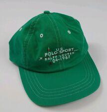 Vintage Polo Sport Ralph Lauren Compass Hat Rare 90s Sportsman USA Outdoors US