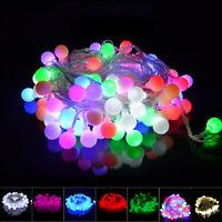 4M/10M 40/100 LED Berry Ball Fairy Lights Christmas Tree Windoor House Garden