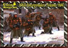 Caesar Miniatures 1/72 GERMAN WWII PANZERGRENADIERS ARDENNES 1944 Figure Set