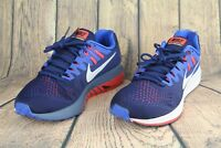 Nike Air Zoom Structure 20 Men Running Shoes Binary Blue/White 849576-400 Sz10