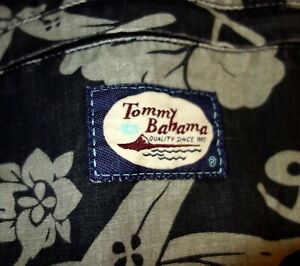 Vintage Tommy Bahama Tropical Cotton Beach Bag/Sling/Backpack hippie/boho