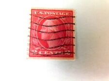 US#444, 2 cent Washington Coil, Used/Fine, 1914