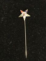 Eastern Star Stick Pin Lot 574