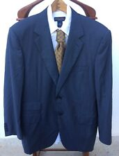 "Men's CANALI ITALY Blue Blazer Sport Coat Wool/Cashmere ""TRAVEL"" Size 54/44 US"