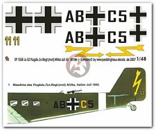Peddinghaus 1/48 Ju 52/3mg4e Markings Flugkdo. / Ln.Regt.(Mot) Italy 1943 1558