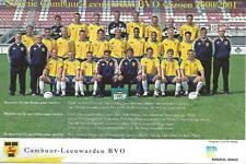 Voetbal, Football, Soccer, ELFTALFOTO CAMBUUR 2000-2001