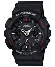 Casio G-Shock Analogue/Digital Mens Black Motorcycle Watch GA-120-1A GA-120-1ADR