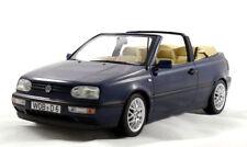Modell 1:18 VW Golf 3 / III Cabrio Cabriolet  dunkelblau 1995  Norev 188434
