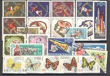 R9922 - MONGOLIA 1964 - LOTTO 23 TEMATICI DIFFERENTI DEL PERIODO - VEDI FOTO