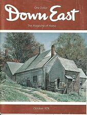 DOWN EAST MAGAZINE~OCTOBER 1974