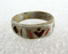 Old vintage soldier trench ring ww1 period embossed 1914