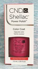CND Shellac HOT POP PINK Power Polish UV Gel Color~GARDEN MUSE Coll~ bright pink